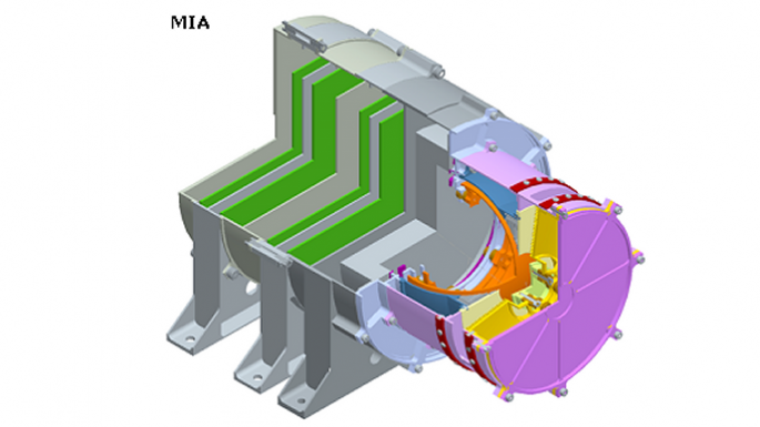 Instrument MGF sur l'orbiteur MMO de Bepicolombo