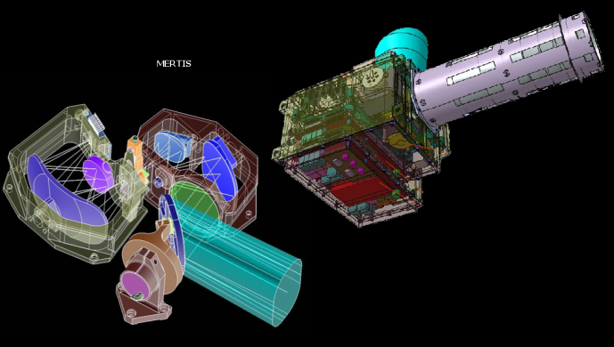 Instrument Phebus sur l'orbiteur MPO de Bepicolombo